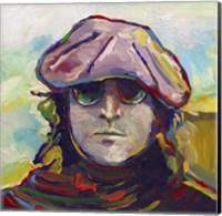 Framed John Lennon Hat