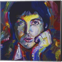 Framed Paul Mccartney
