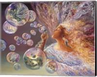 Framed Bubble Flower
