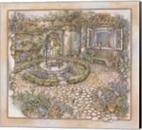 Framed Well inthe Garden