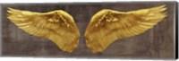 Framed Angel Wings (Gold I)