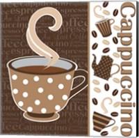 Framed Cafe Au Lait Cocoa Latte IV