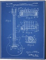 Framed Guitar & Combined Bridge & Tailpiece Therefor Patent - Blueprint