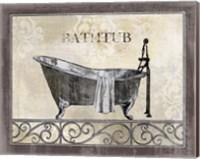 Framed Bath Silhouette II