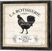 Framed French Market II