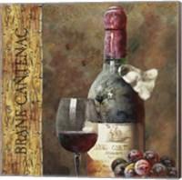 Framed Wine Collection IV