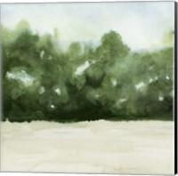 Framed Loose Landscape I