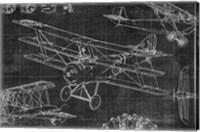 Framed Vintage Aviation III