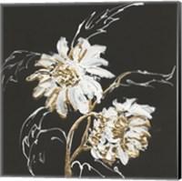 Framed Gilded Sunflowers