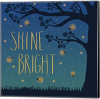 Framed Twilight Fireflies II