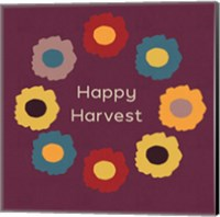 Framed Happy Harvest
