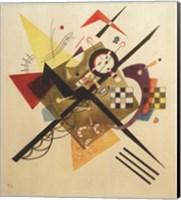 Framed Sketch for On White II, 1922