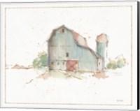 Framed Farm Friends XIV Barn