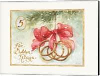 Framed 12 Days of Christmas V