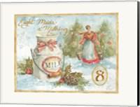 Framed 12 Days of Christmas VIII