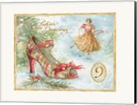 Framed 12 Days of Christmas IX