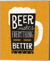 Framed Craft Beer II