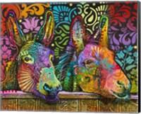 Framed Donkeys
