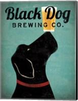 Framed Black Dog Brewing Co v2