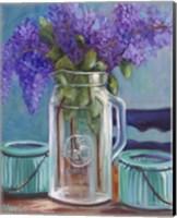 Framed Homestead Lilacs