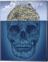 Framed Skull Island