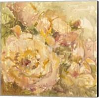 Framed Peach Flower