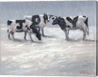 Framed Joy Cows