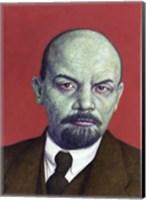 Framed Dead Red - Lenin