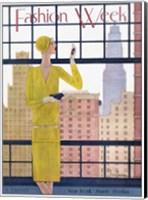 Framed Fashion Week 1928