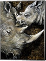 Framed Rhinos