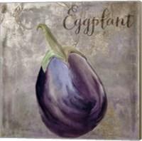 Framed Medley Gold Eggplant