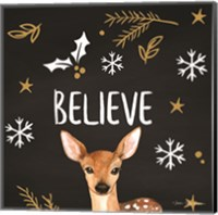 Framed Believe Deer