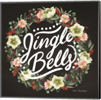 Framed Jingle Bells Wreath