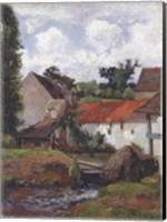 Framed Farm at Osny