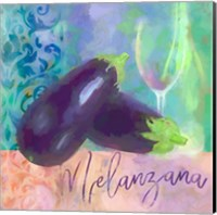 Framed Melanzana - Aubergine