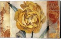 Framed Golden Blossom 2