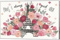 Framed Paris is Blooming I