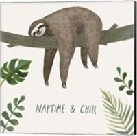 Framed Sloth Sayings II