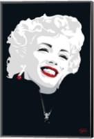 Framed Miki Marilyn