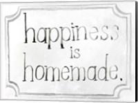 Framed Homemade Happy I