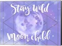 Framed Moon Child II