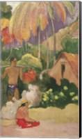 Framed Landscape in Tahiti 1892
