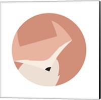 Framed Cuddle Fox