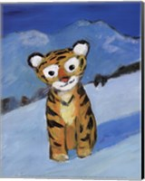 Framed Little Tiger