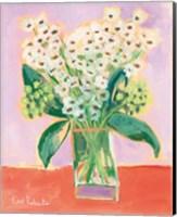 Framed Flowers for Eliza I