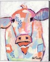 Framed Moo Series:  Bernadette