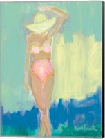 Framed Sunbather Series:  Summer Sway