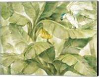 Framed Tropical Canopy II Green