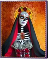 Framed DOD-Santa Muerte