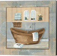 Framed Copper Tub Variation